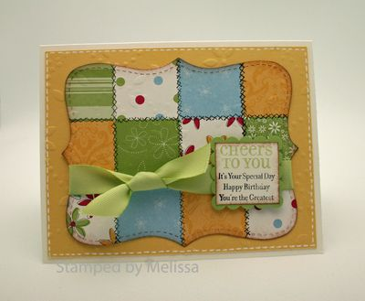 Top Note Quilt