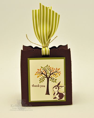 Forest Friends Fancy Favor Box