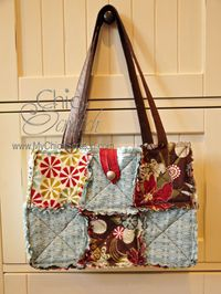 Scallop Square Purse