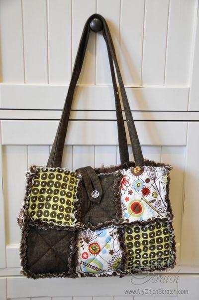 Wild thyme purse