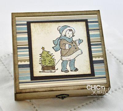 Greeting Card kid box