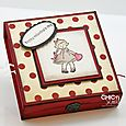 Greeting Card Kids Valentine Box