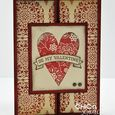 Be My Valentine trifold