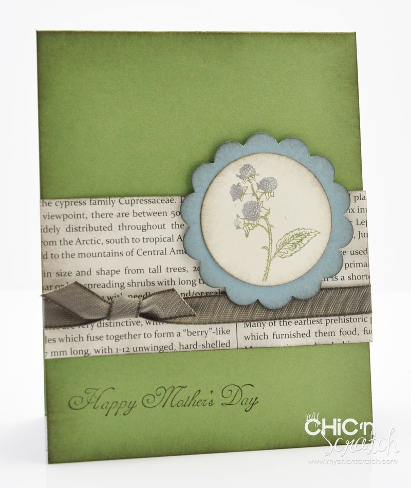 March thank you card