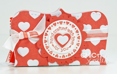 Top Note Valentines Reeses Heart