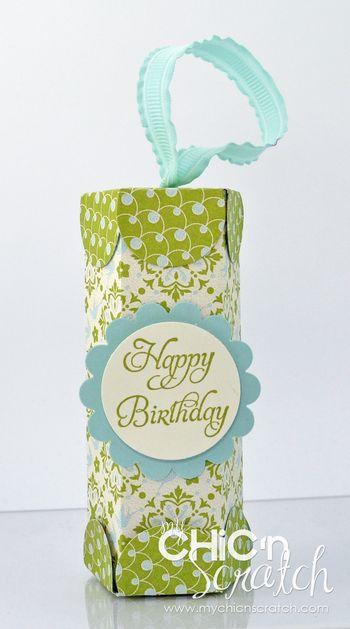 Birthday Treat Tube