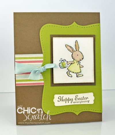 Everybunny Suede Card