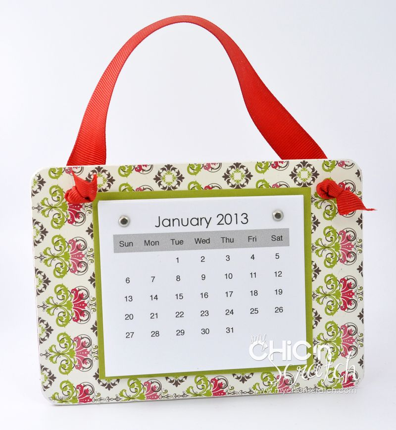 Candlelight Christmas Coaster Calendar