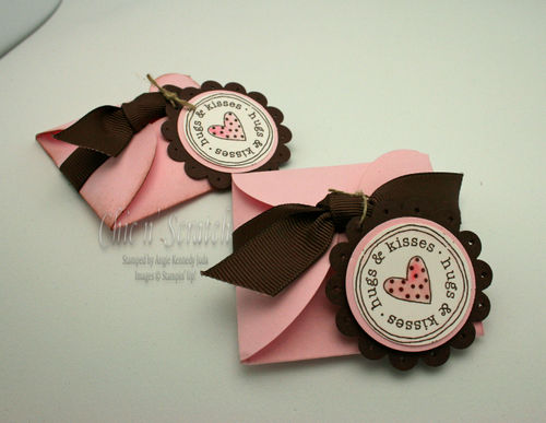 Petal Card Candy Holder